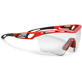 Rudy Project Tralyx XL Glasses Fire Red Gloss - ImpactX Photochromic 2 Black